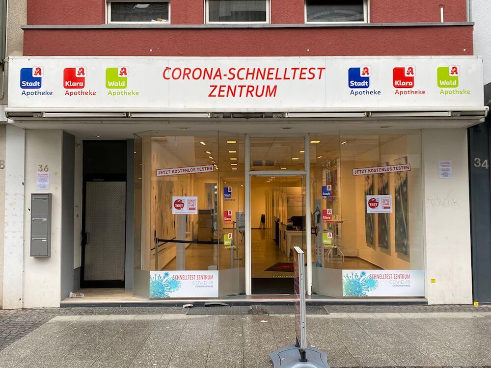 Corona Schnelltest Zentrum Eschweiler